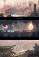Eden Star Environment Concepts by gavinli