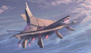 Floating Communication Airship by gavinli