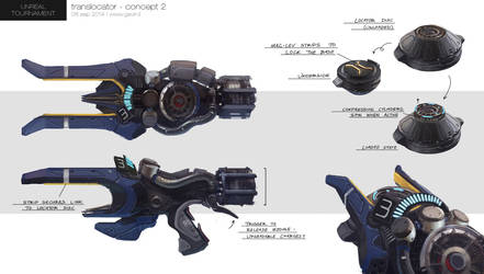 Unreal Tournament - Translocator Concept