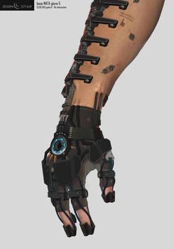 Eden Star Prop - Arm 'MATA Tool' Augmentation