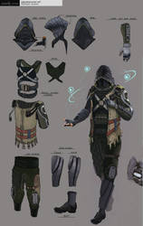 Eden Star Character - Cybermancer Concept