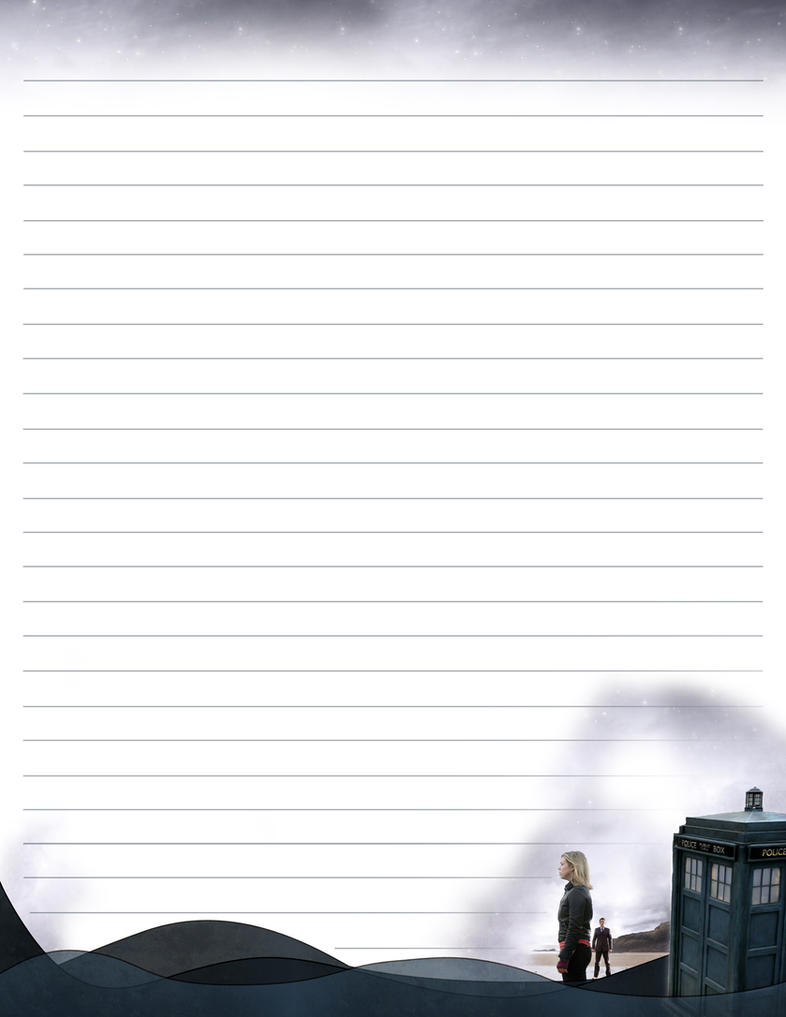 Stationary de Doctor Who by krissy