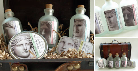 Goddess Apothecary Packaging Concept