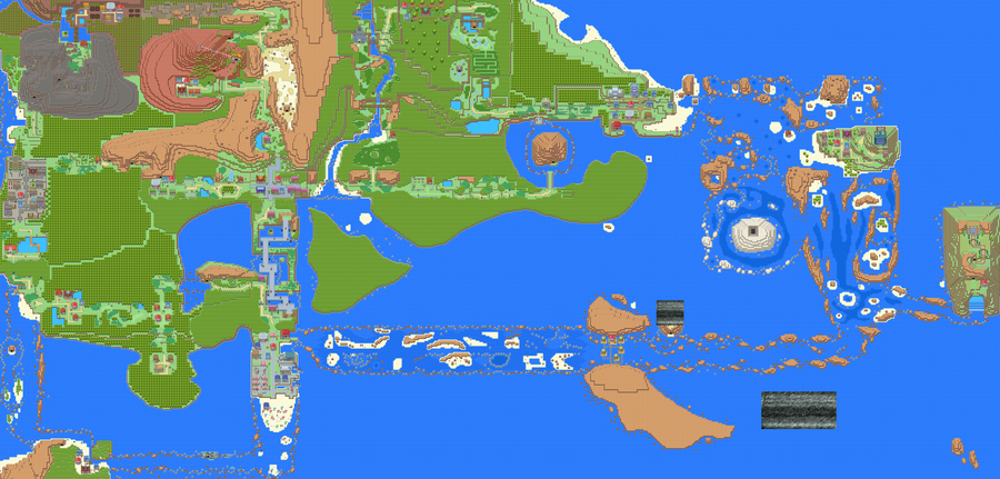 gramotpan • Blog Archive • Pokemon emerald old sea map