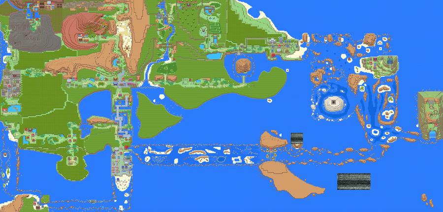 Hoenn Remake Maps By Lightbulb15 On Deviantart
