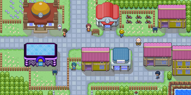 how to get to mauville city in pokemon ruby