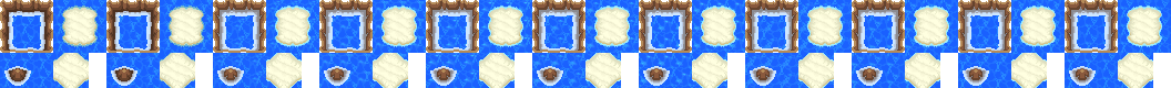 Animated Water Tile Frames