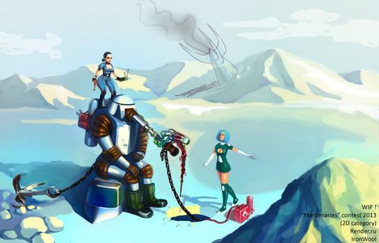 Mercenaries - main picture (WIP!!!)