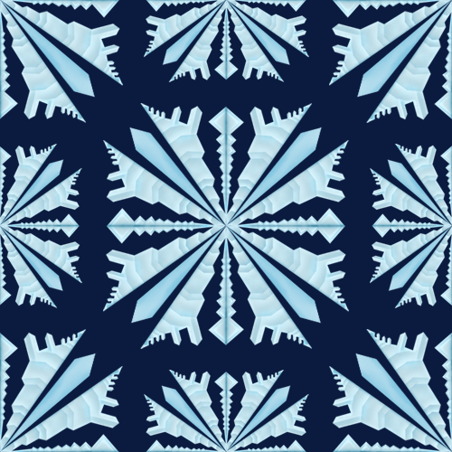 Snowflake Pattern by AFX-Designs