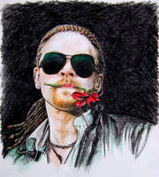 Axl Rose by SweetChile