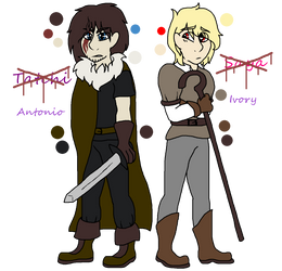 Saya And Tatchi Redesign by silvervEXin