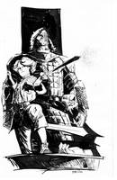 Arya and The Hound by pfab