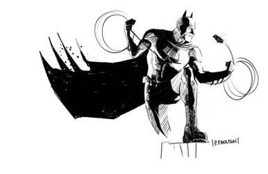 Bat Pose