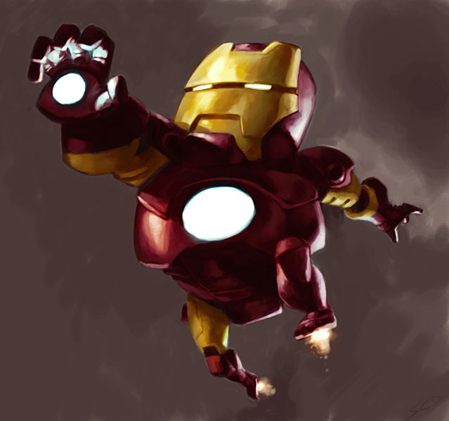 LIL IRONMAN by poojipoo