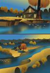 Cartoon Backgrounds 01