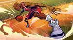Michael Jordan style mock-up