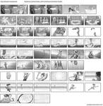 Shoe Ad storyboards