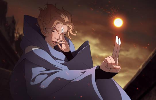 Castlevania Art: Sypha