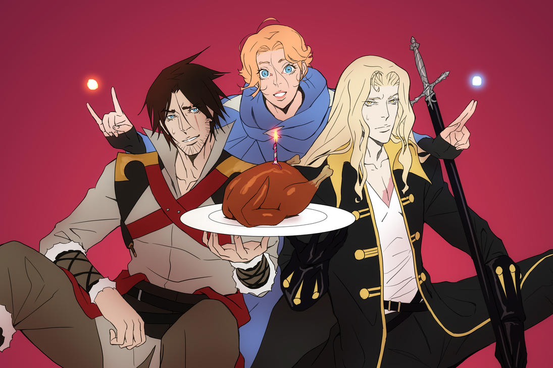 Castlevania, Happy Birthday! by poojipoo