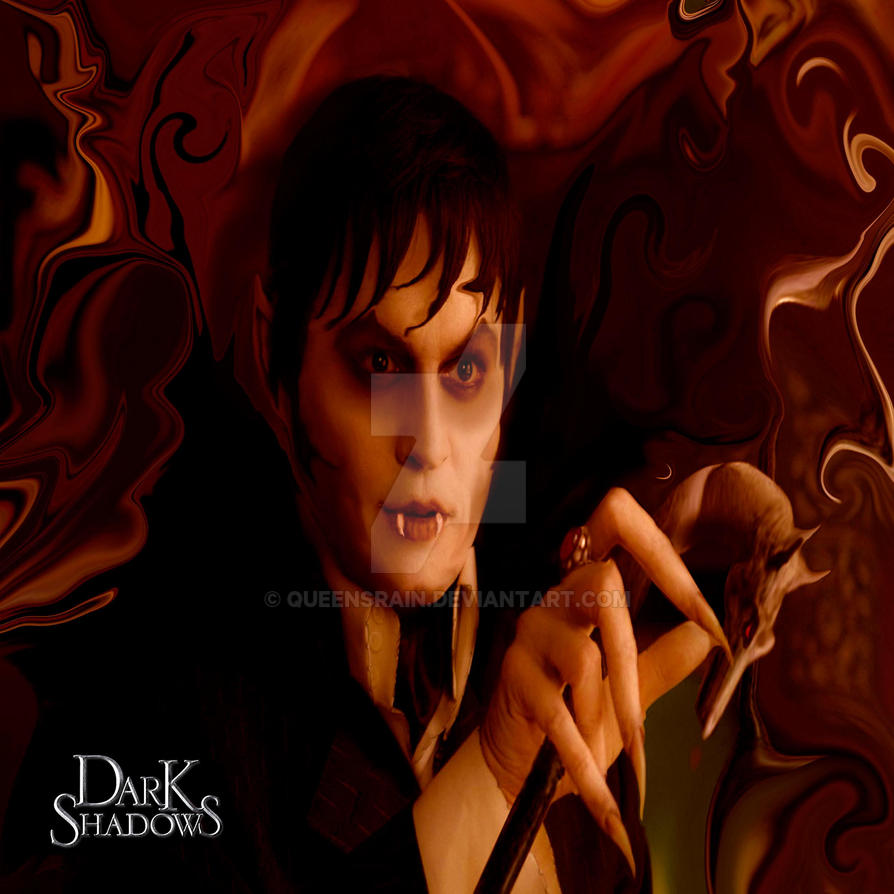Dark Shadows - Barnabas by Queensrain
