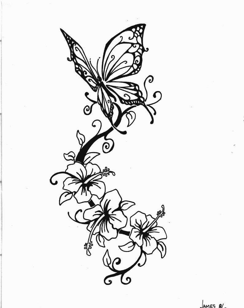 Tattoo Design Butterfly