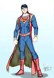Another Superman Design by Jimmy-B-Deviant