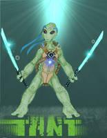 Alien Leo by Jimmy-B-Deviant