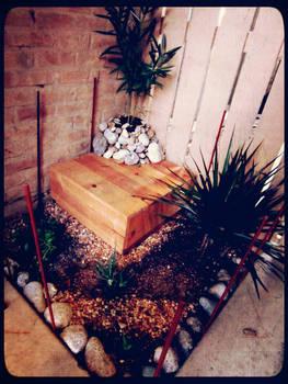 My Husband's Zen Garden
