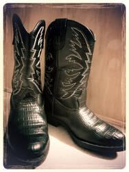My Lil' Cowboy's Feet