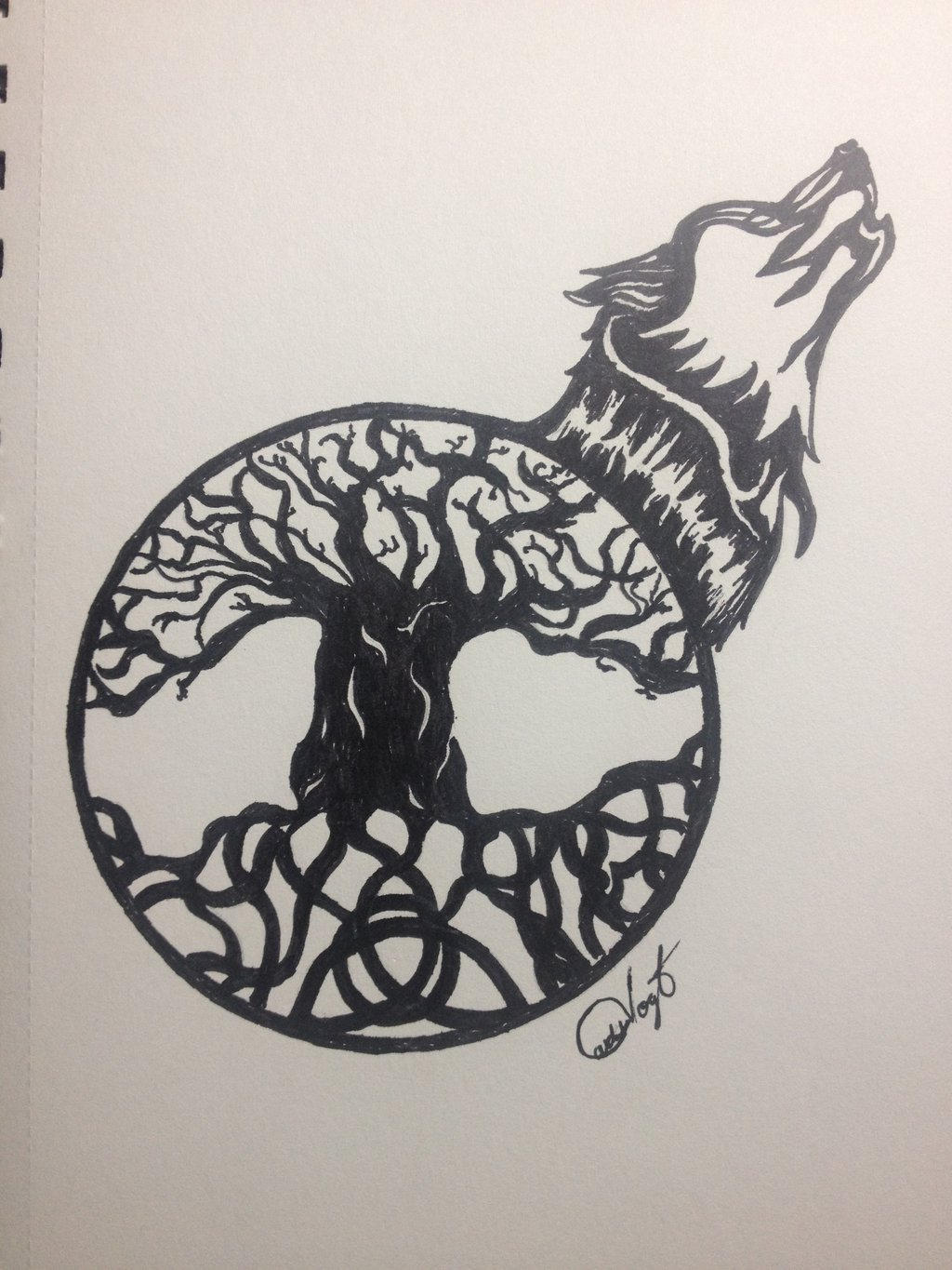 Celtic Tree Of Life By Carlosv21