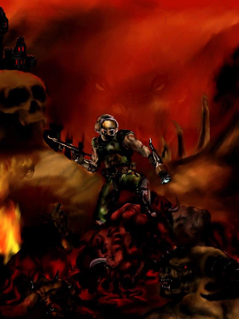 brutal doom wallpaper - photo #8