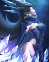 FFXIV Shiva by Winterleigh