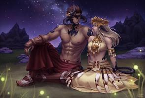 C: Bayarma and Altana by Winterleigh