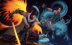 C: Akechi and Zhi