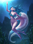 C: The Ruby Sea Cryptid by Winterleigh