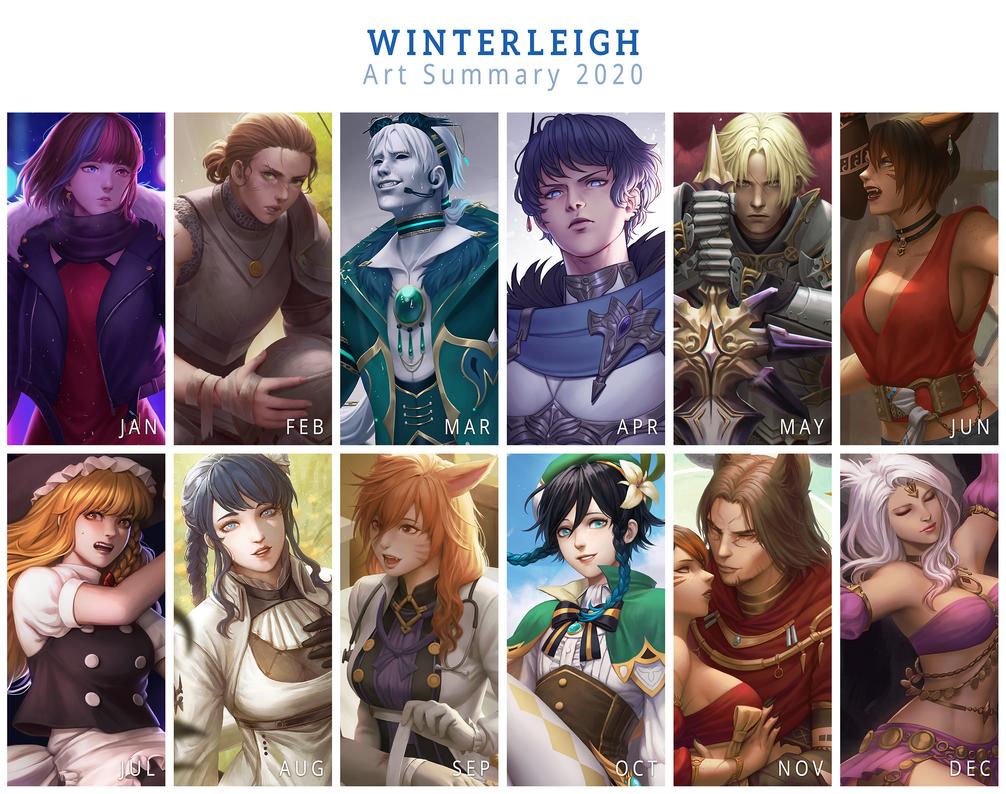 Winterleigh 2020 Art Summary