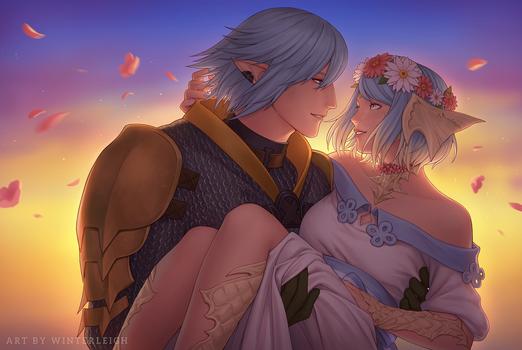 C: Natsumi and Haurchefant