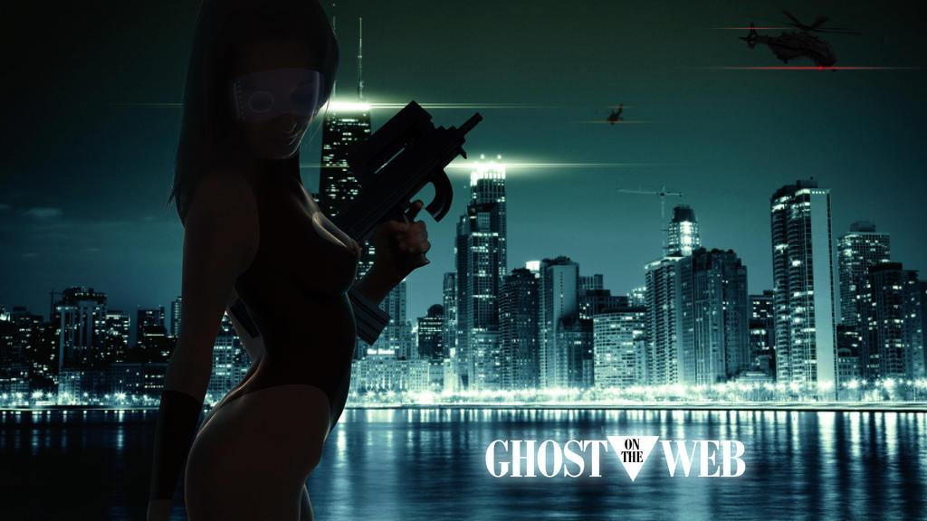 Ghost In The Shell inspired by DjKold on DeviantArt