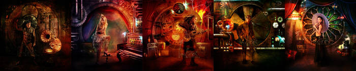 Abney Park - Airship Pirates by Foxfires