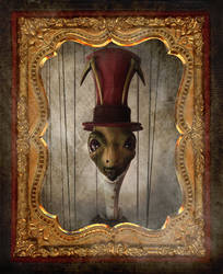 The Portrait of Sir Cricket by Foxfires
