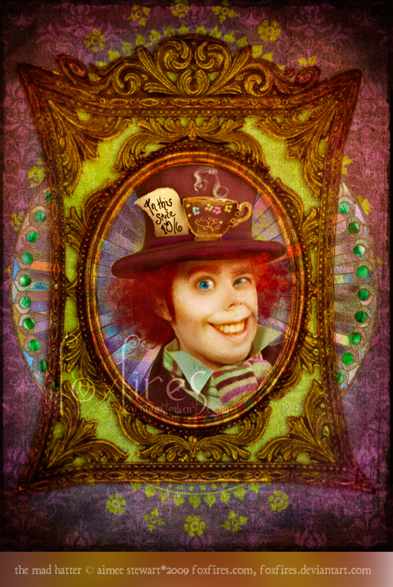 The Mad Hatter by Foxfires