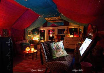 Inside my studio... by Foxfires