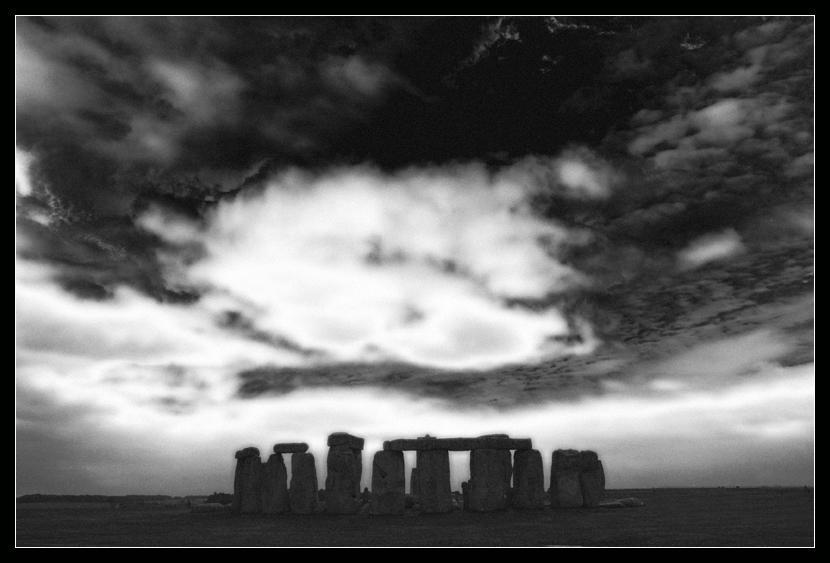 Stonehenge Sky by Foxfires