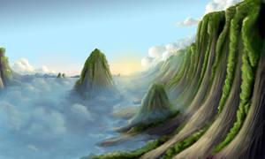 landscape cliffs