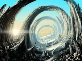 Vale of arcs - speedpaint by Syntetyc
