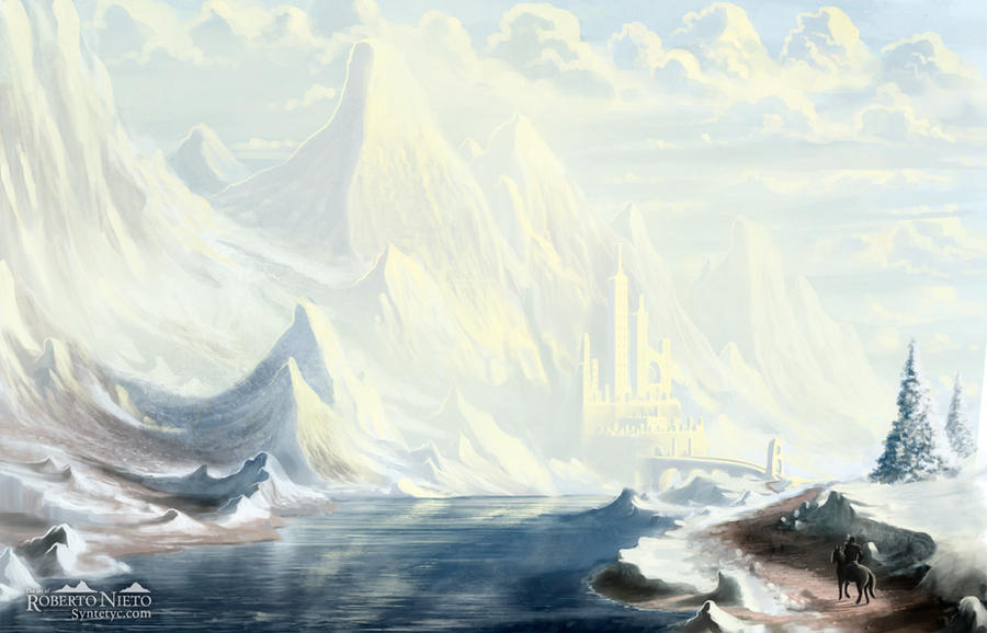 Winter Fortress by Syntetyc