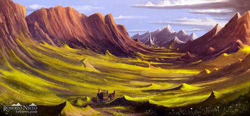Green Valley by Syntetyc