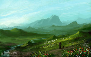 the shepherd - speedpaint by Syntetyc