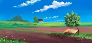 Rural environment - speedpaint