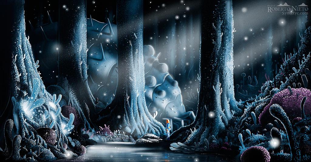 Nausicaa by Syntetyc on DeviantArt